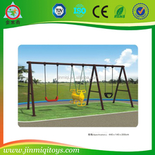 Used low price double swing/porch swing/child swing set