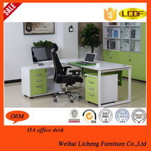 promotion low price MDF panel modern type beautiful office desks