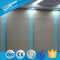Sound Absorption Panel Leather Acoustic Fabric Wall Covering