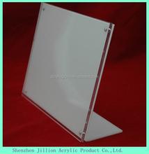 desktop acrylic magneitc stand-up sign Flyer holder