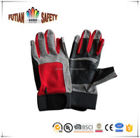 FTSAFETY Heavy duty hand protection cow split leather gloves mechanic gloves