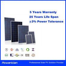 Powerician 20Wp 18V Poly PV Module Solar 12V Solar Home System Solar Panel