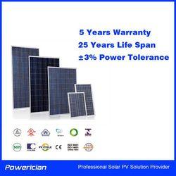 Powerician 20Wp 18V Small Power PV Module Poly Solar Panels For 12V Solar Battery Home System