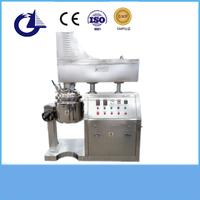 High shear liquid cosmetic vacuum emulsifying machine