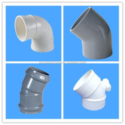 ISO standard pvc/upvc pipe fittings 22.5 degree elbow ,elbow joint sell hot