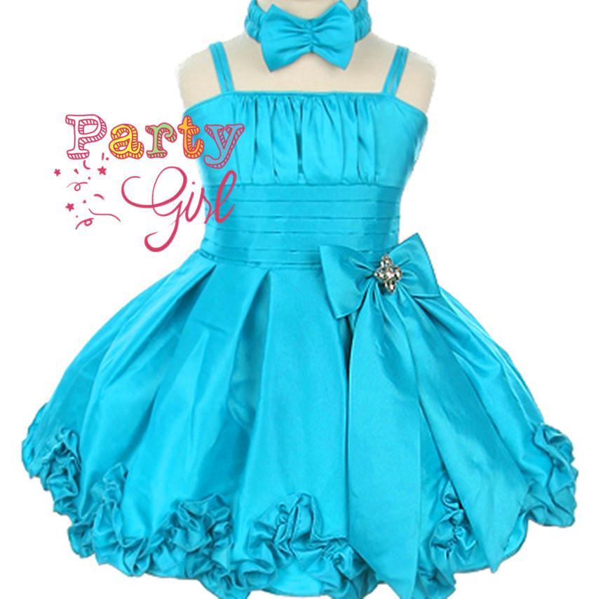 Boutique girls prom dress baby girl party wear dress girls fashion