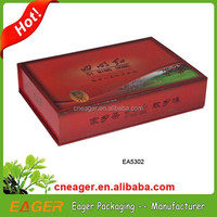 Customized luxury paper tea box with different models for choose