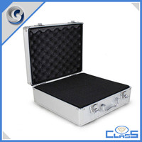 MLDGJ460 Superior Quality Silver Durable Fashional Heavy Duty Sponge Custom Plastic Aluminium Hard Tool Case