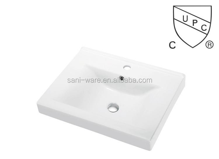 SN1538-60 미국 뜨거운 판매 CUPC 욕실 세라믹 세면대 캐비닛-욕실 ...