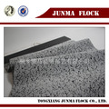 グレーと黒のルートをイチジク印刷パターンの群れのファブリック中国卸売衣類織物
