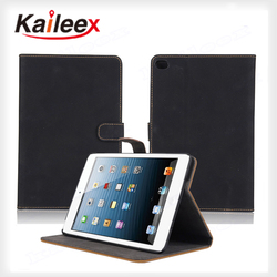 ShenZhen Protect Good PU Leather Case For Ipad mini4 Leather Flip Case