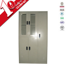 iron office furniture 5 doors tall storage cabinet / modern metal type steel cabinet