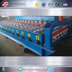 H35 Full Automatic Zinc Roofing Sheet Glazed Tile Making Machine
