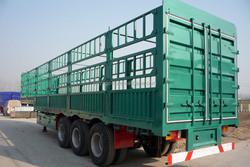 flatbed semi trailer truck/semi trailer and van box