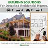 Eps Sandwich Tailored Space Saving panel prefab luxury light steel structure villa