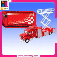 10205915 friction plastic kids inertia firefighting cars fire truck toys