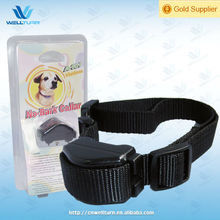 ABS+Nylon belt Safe Vibration bark terminator Collar for Puppy