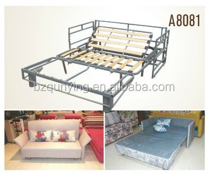 King Size Fashion Fold Out Convertible Wooden Slat Metal Tube Sofa Bed Frame Buy King Size