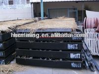 professional design gold shaking table for gold mining