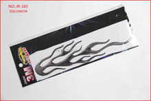 High quality 3D PVC Flame motorcycle/car stickers