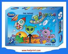 Jigsaw Puzzles in Children's Early Childhood Learning Paper Jigsaw Puzzle Games