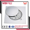 3 pcs horizontal anti-odor stainless steel drain cover with clean out