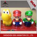 Figurilla de familia de Mario de PVC 3D personaje de dibujos animados de Japón