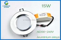 15w led downlight wiring diagram 1500lm SMD5730 with 2 years warranty