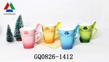 2014 Christmas ceramic mug wholesale hot sale
