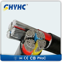 600/1000V XLPE Insulated, PVC Sheathed, Aluminum Wire Armoured Copper Core Power Cable Manufacturers 4c x 300 mm2 price $95.63