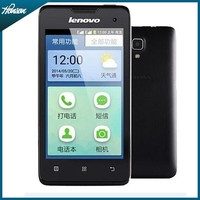 """Original Cheap lenovo A3 old people phone 4.0"""" Android 2.3 OS Quad core WIFI GPS Dual Sim Card 3G cell phones"""