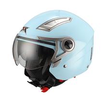 motorcycle helmet half shell,Motorcycle Helmet, dual visor open face helmet