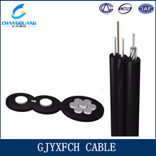 China Cable Manufacturer Changguang multimode 50 125 fiber optical cable Self Support Bow Type Drop Cable