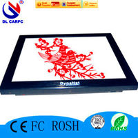 China Supplier For DL 17'' Aluminum Resistance Touch Screen Indoor AIO Industrial Design All In One Best Personal Computer