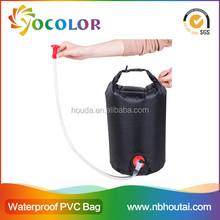 2015 hot sale 500D PVC tarpaulin red inflatable Phone Camera Waterproof Dry Bag for boating