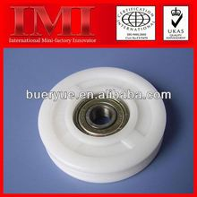 2013 Hot Sale Low Noise and Long Working Life high friction plastic ball bearings PP03