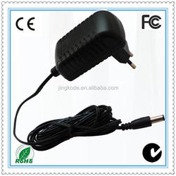 12V 1.6A ac .dc adapter power cable linearity electronics with CE/FCC/ROHS/C-tick