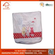 Advertising foldable non-woven market bag