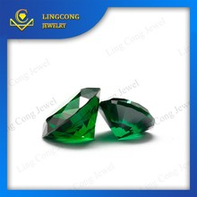 The factory price wholesale The high quality round brilliant cut emerald color