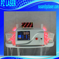 (Hot in Europe) 2015 Advanced CE and FDA approved 16 paddles dual wave 650nm+808nm lipo laser machine for sale
