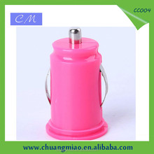 Promotional dual usb for tablet with 5V 2.1A mini usb car charger