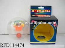 Flash mini palm basketball toy with light and LCD