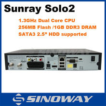 Stable quality ! Sunray se solo 2 Full HD Enigma 2 decoder DVB-S2 Satellite TV Receiver sat device sunray solo 2