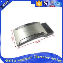 Zinc alloy metal flat buckle belt China manufacturer