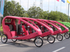 Three Wheel Passenger Electric Taxi Bike Cars With Cabin