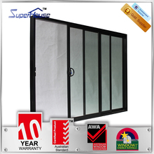 Australia/ NEW Zealand Certified theraml double glazed balcony sliding doors