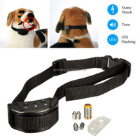 2015 New Arrival Anti Bark Stop Controller No Barking Remote Electric Shock Vibration Dog Pet Training Collar