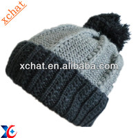 fashion knitted hat and cap winter knitted hat