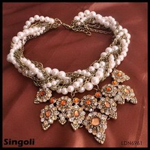 Time Deligts Pearls alloy &pearl weding bridesmaids gifts holidays everyday jewellery