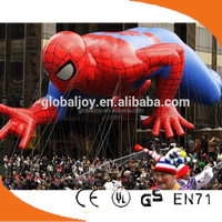 Giant Advertising Floating inflatable spider-man balloon,parade balloon